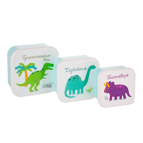 Roarsome Dinosaurs Stacking Lunch Boxes