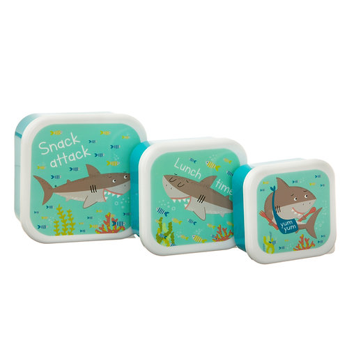 Shelby the Shark Stacking Lunch Boxes