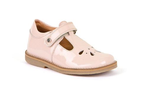 Froddo Evia T-bar shoe (pale pink patent)