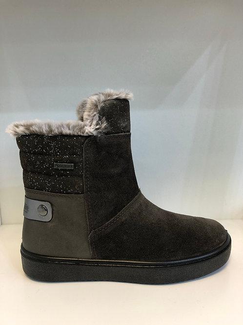 Superfit Waterproof Fur-lined Heaven Boot (brown suede/leather)