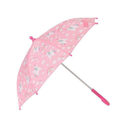 Rainbow Unicorn Kids' Umbrella