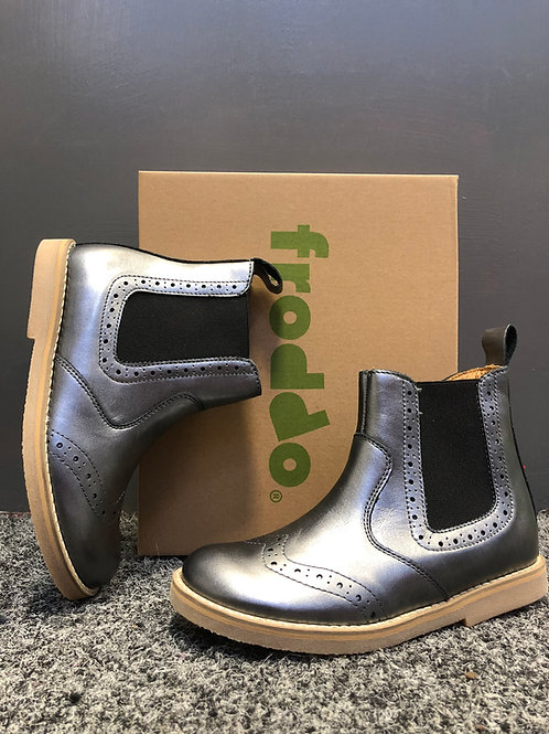 Froddo Chelsea Boot (silver leather)