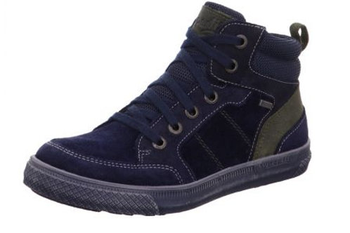 Superfit Waterproof Luke Boot (blue/green suede)