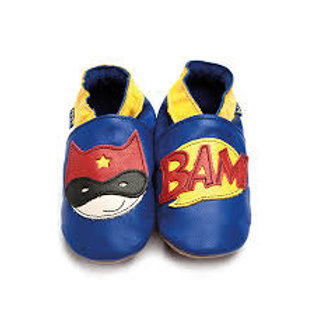 Inch Blue Baby Shoe Superhero (blue)