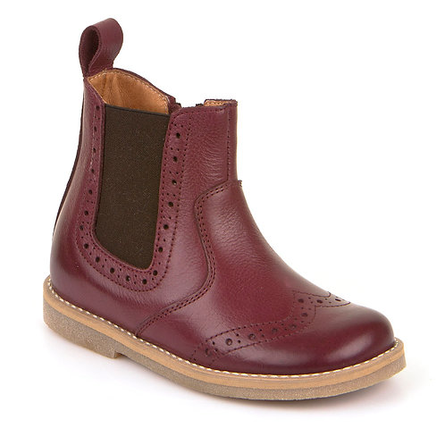Froddo Chelsea Boot (burgundy leather)