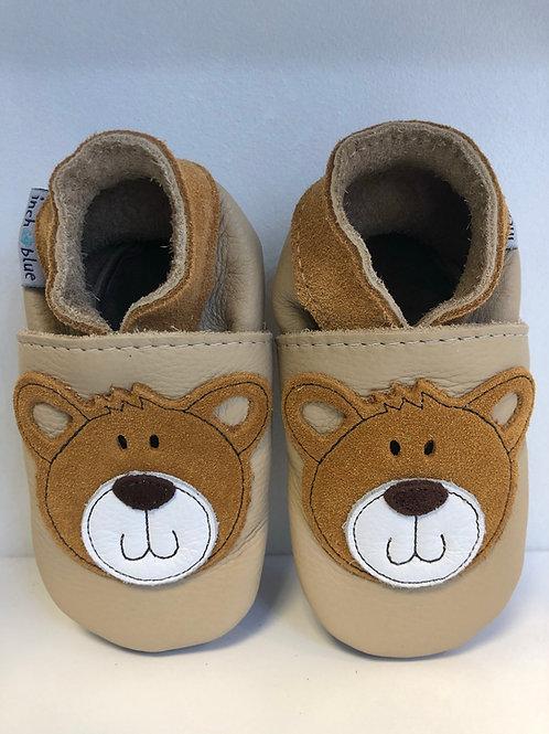 Inch Blue Baby Shoe Teddy (cream)