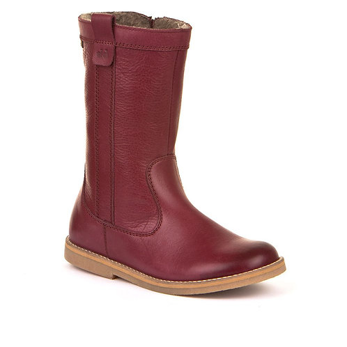 Froddo Waterproof Long Boot (burgundy leather)