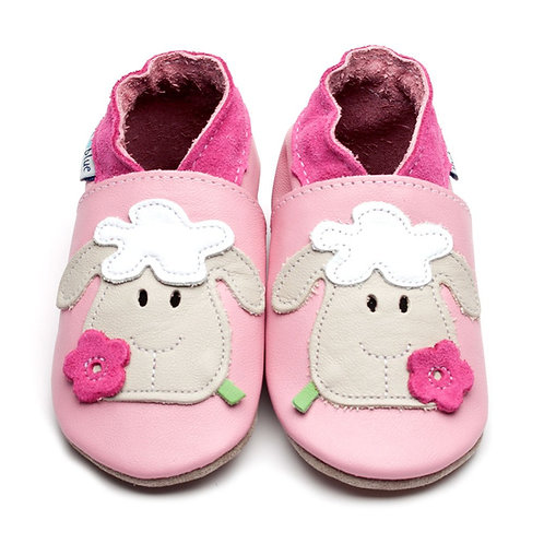 Inch Blue Baby Shoe Sheep (pink)