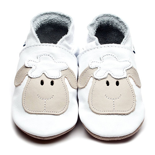 Inch Blue Baby Shoe Lamb (white)