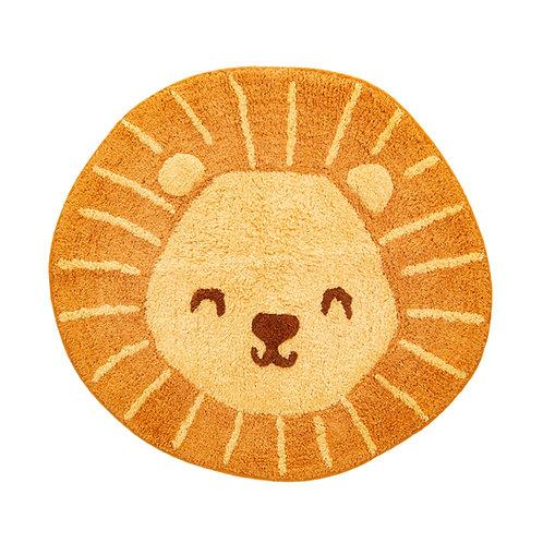 Lion Head Rug