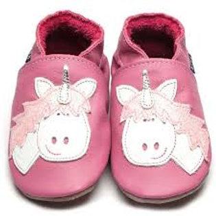 Inch Blue Baby Shoe Unicorn (pink)