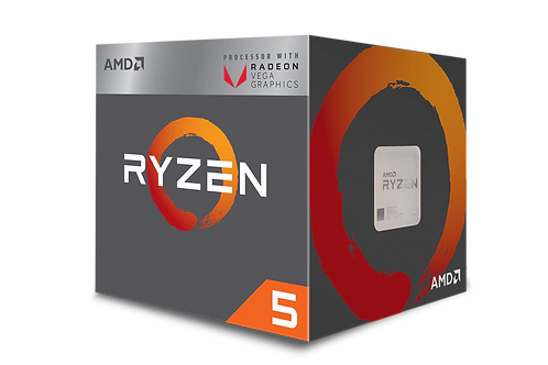 AMD Ryzen 5 2600X, 6 Cores AM4 CPU, 4.25GHz 19MB 95W