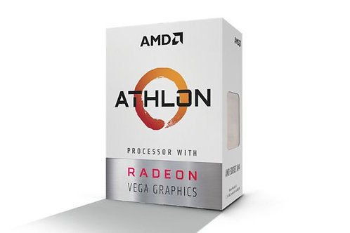 AMD Athlon 200GE, 4 Core AM4 CPU, 3.2GHz 4MB 35W