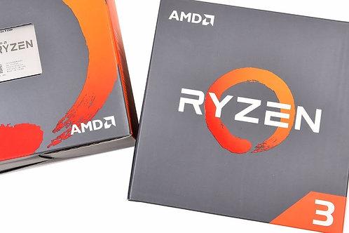 AMD Ryzen 3 2200G, 4 Core AM4 CPU, 3.7GHz 6MB 65W