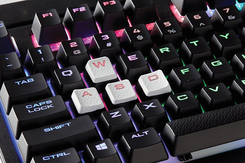 Corsair FPS/MOBA Key Kit White