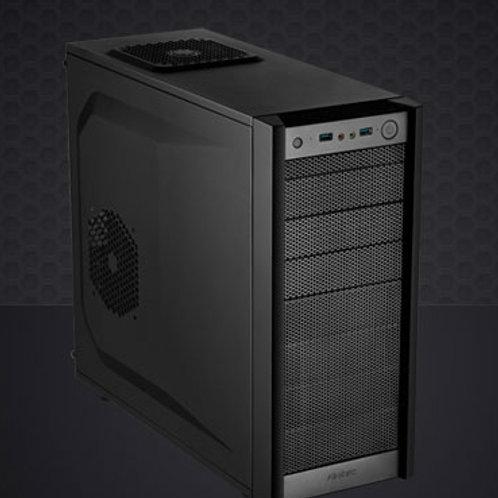 "Antec ONE ATX Mid-Tower 3x 5.25"" External, 5x 3.5"" 2x 2.5"" Internal.  2 X USB3,"