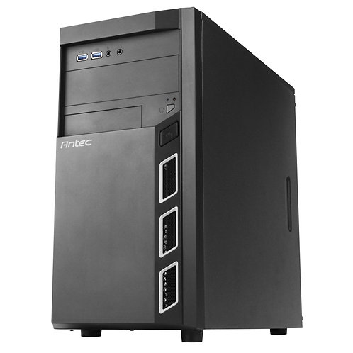 "Antec VSK3000 ELITE Micro ATX Case.1x 5.25"" External. 4x 3.5"" Internal, 2x USB 3"