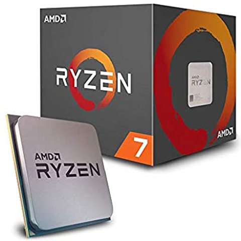 AMD Ryzen 7 2700, 8 Cores AM4 CPU, 4.1GHz 20MB 65W