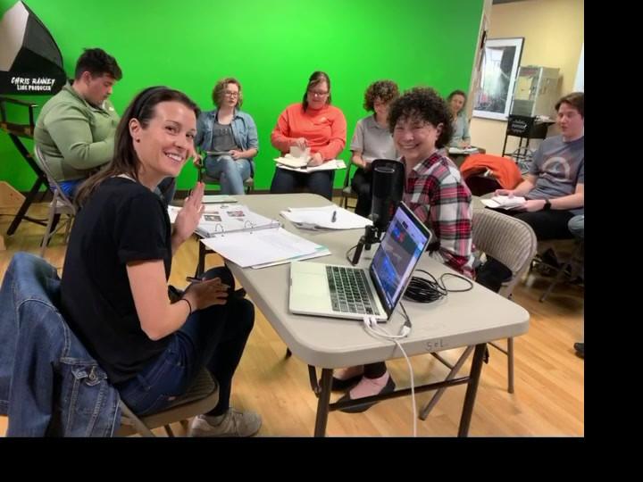 Teaching VO at Sol Acting Studio