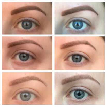 Ombre Brow Healing Process
