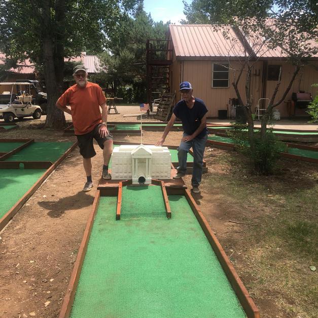 Rebuilding the mini golf course