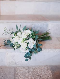 organic bridal bouquet