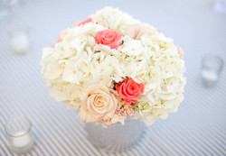 simply hydrangeas and roses
