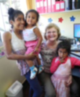 Peruvian family helped by CAFA