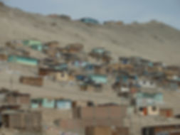 Living conditions common in Peru