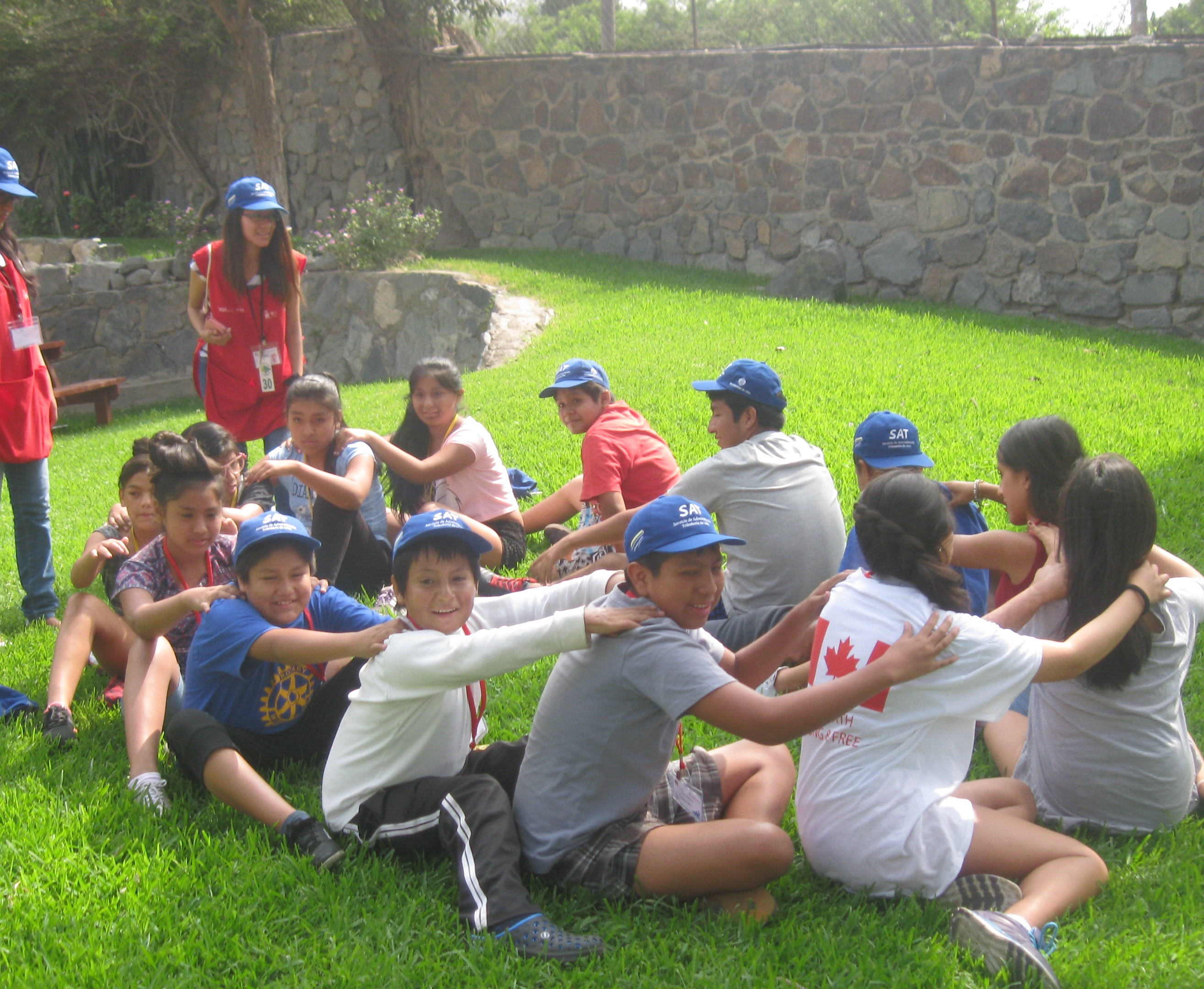 Campers do activities at CAFA camp