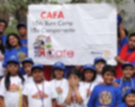 CAFA Kids Burn Camp