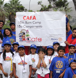 Campers at the 18th CAFA camp