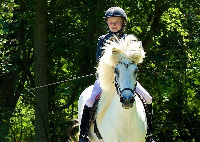 Horseback riding close to Sugarbush - Mad River in Vermont