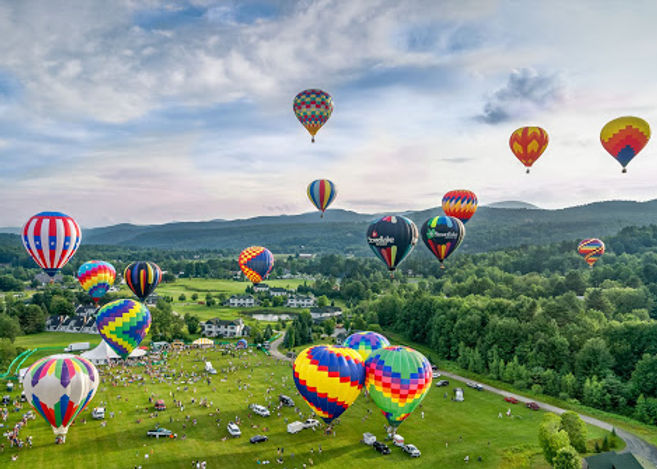 Stowe Vermont art and music festivals in the Green Mountains