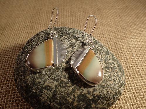 Imperial Jasper Free Form Earrings