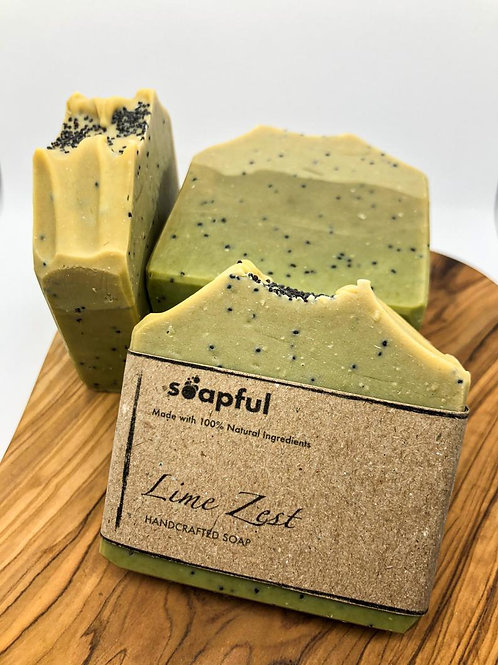 Lime Zest - Handcrafted Vegan Soap