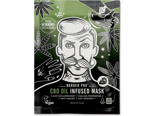 BARBER PRO CBD oil infused mask