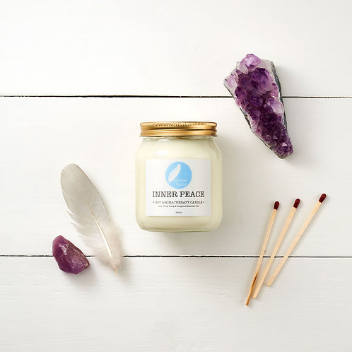 Inner Peace Soy Aromatherapy Candle