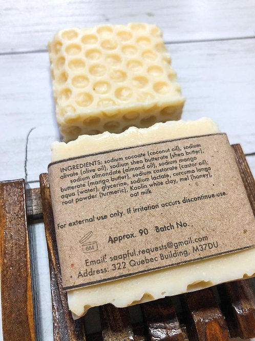 Sweeter Than Honey - Handcrafted Soap With Honey and Oat Milk