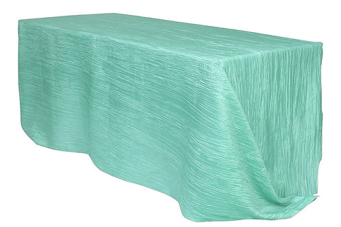 Crinkle Tafetta Tablecloth 90x156