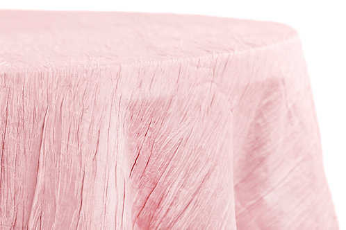 Crinkle Tafetta Round Tablecloths 132