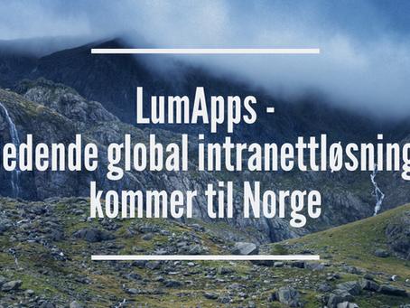 LumApps – ledende plattform for intranett kommer til Norge