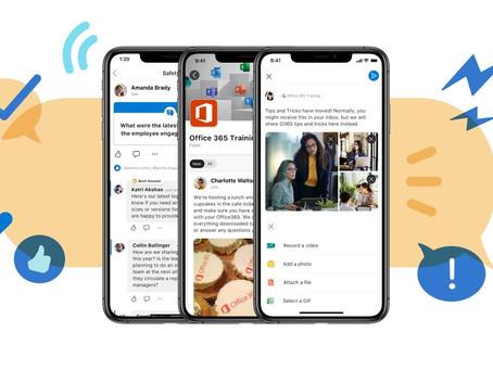 Bruk Yammer som sosialt intranett i Microsoft 365