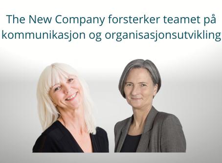 The New Company forsterker teamet på kommunikasjon og organisasjonsutvikling