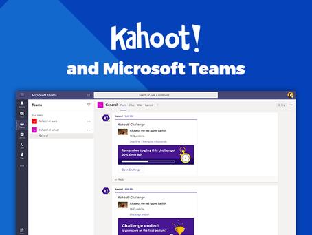 Ta i bruk Kahoot! - rett i Microsoft Teams!