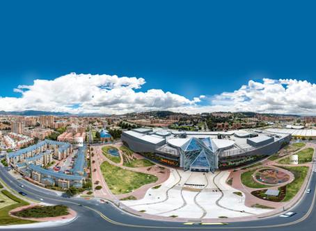 Fotografía 360 desde el aire . Drones Bogotá