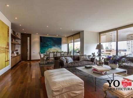 Los apartamentos de lujo en Bogotá
