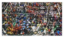 Wall pixel - Jairo A Llano fine art photographer