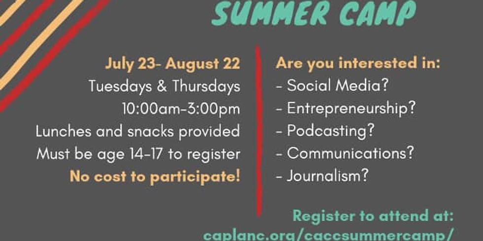 Media Literacy Camp