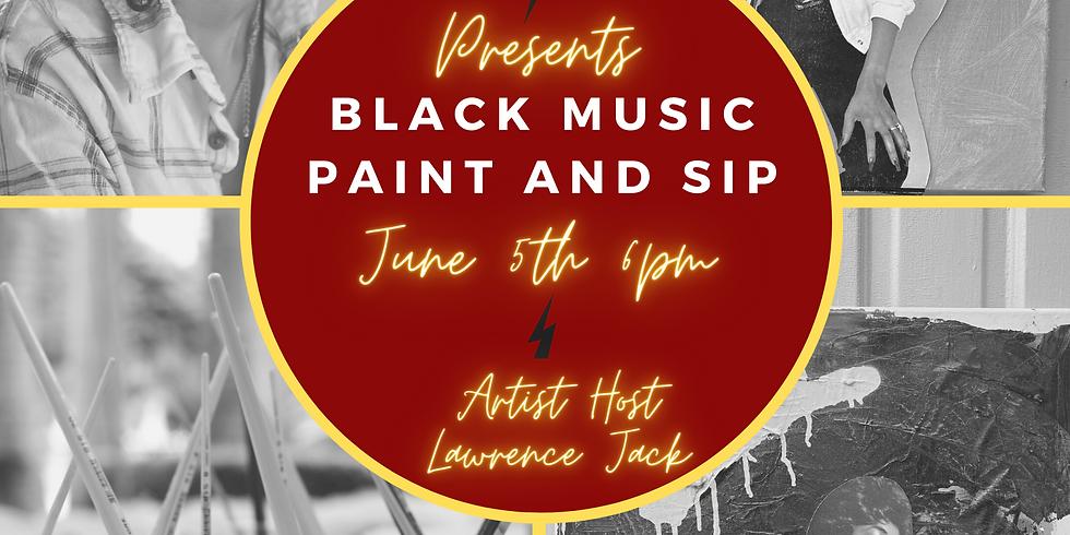 TCP Presents: Black Music Paint Night